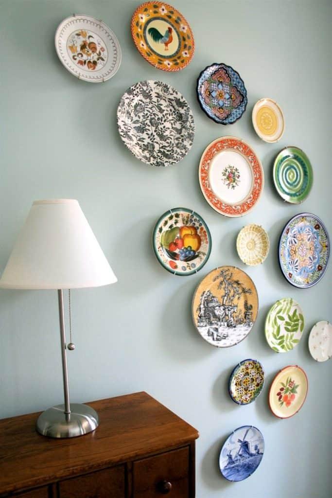 plates as wall art